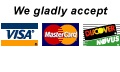 Just Four Paws Academy - Accepts all major credit cards