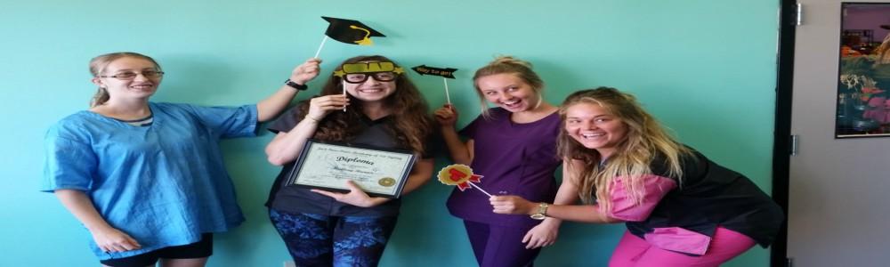 Mallory Graduation Fun